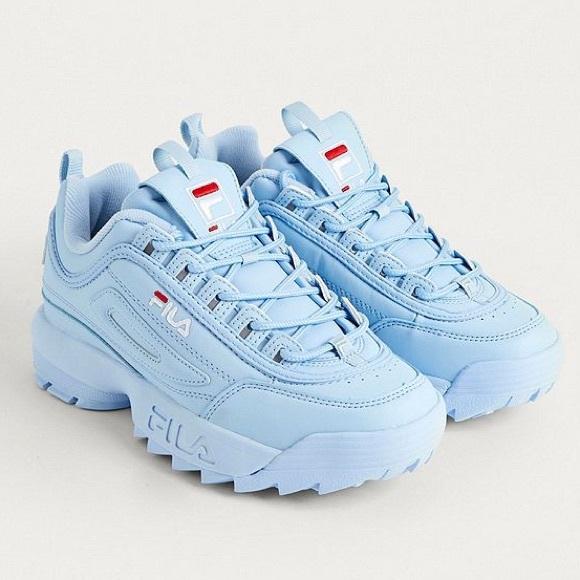 Fila Disruptor Sneakers Baby Blue